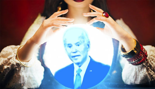 New White House press secretary conducts seance, confirms Biden is alive and kicking