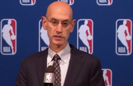 NBA commissioner on Rockefeller Board position: Sports can 'transform' society