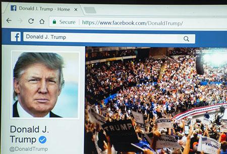 Democrat joy as Facebook upholds indefinite ban on popular former president