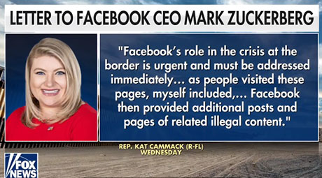 Memo to Facebook: Millennial congresswoman discovers how violent cartels are smuggling illegals into U.S.