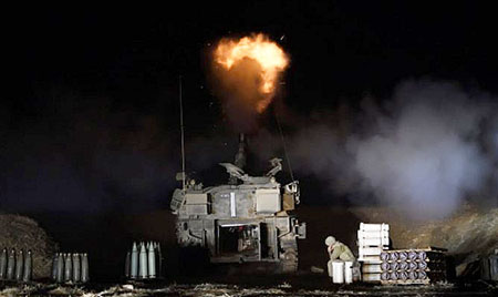 Israeli forces deceive, bombard Hamas forces with announcement of ground offensive