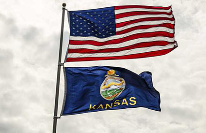 Kansas Republicans override Democrat governor's veto of sweeping election reform