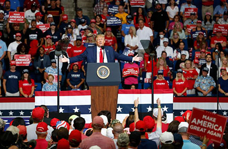 Oh no: Former President Trump signals reboot of revolution; MAGA rallies to return