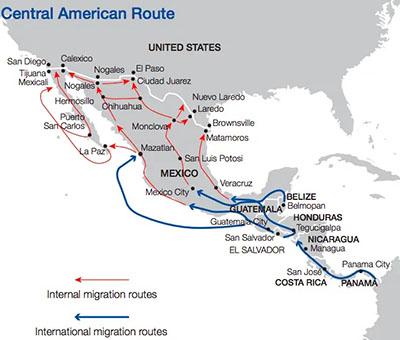From Bangladesh to Uzbekistan, migrants from all over exploit Biden's open border