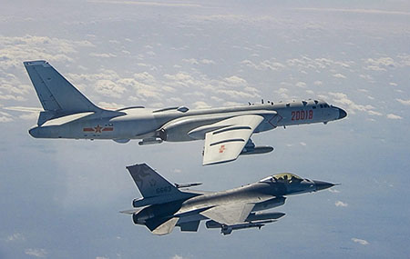 'Dangerous game': 28 warplanes, 300+ sand dredgers from China harass Taiwan