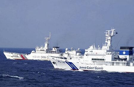 China Coast Guard ships enter Japan waters around Senkaku Islands for 112th consecutive day