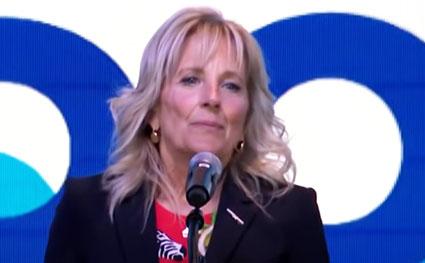 Nashville crowd boos Jill Biden for shaming Tennessee's unvaccinated