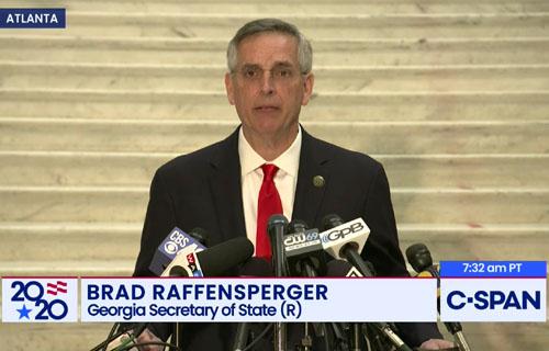 Reports: Georgia GOP votes to censure Sec. of State Raffensperger
