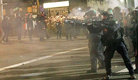 Mass resignation of Portland's riot squad called end result of Soros-style justice