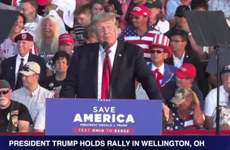 'Presidential' Trump in Ohio sums up 5 months of Team Biden: 'A complete and total catastrophe'