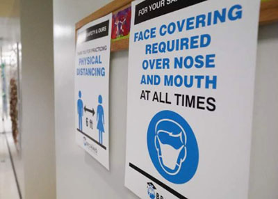 Here's what lab analysis found on kids' fresh masks after 5 hours in school