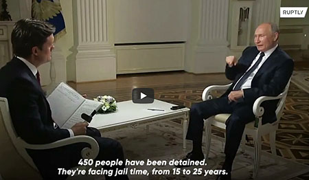 Putin to NBC: Did U.S. order the assassination of Ashli Babbitt?