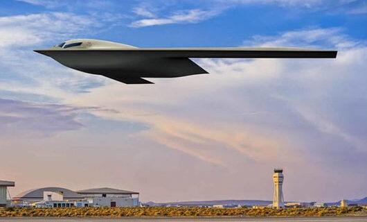 Air Force provides sneak peak of new B-21 Raider strategic bomber