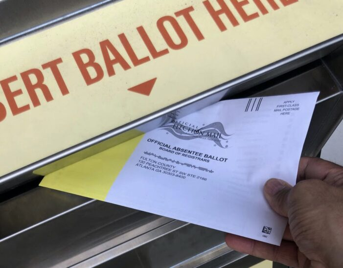 Election integrity group finds 'provable fraud' in audit of ballot images in Fulton County, Georgia