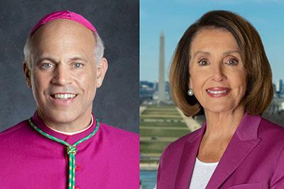 'Epitome of hypocrisy': Archbishop calls out 'devout Catholic' Pelosi