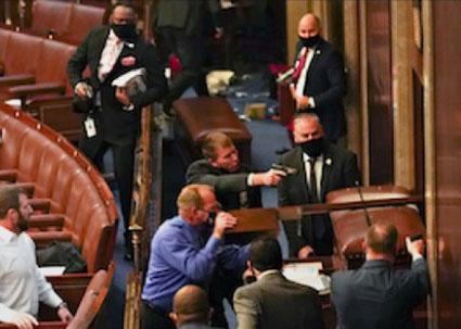 Report names Capitol Police officer as shooter of Ashli Babbitt