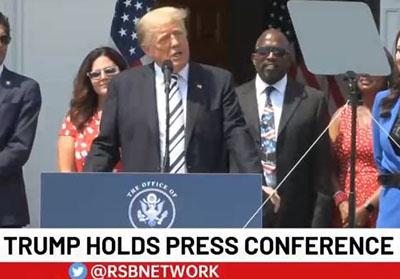 Trump declares class action legal war on Big Tech, 'the de facto censorship arm of the U.S. government'