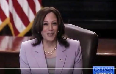 'This is your home': Illegal DREAMers meet Kamala Harris at White House