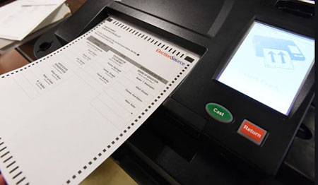Dominion contractor notifies Michigan election officials it will be changing batteries on all voting machines