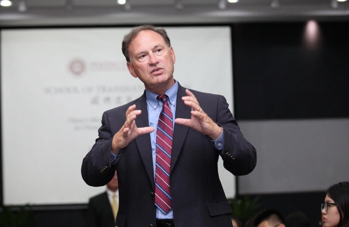 Supreme Court Justice Alito taught at Peking University, headed by CCP spy chief
