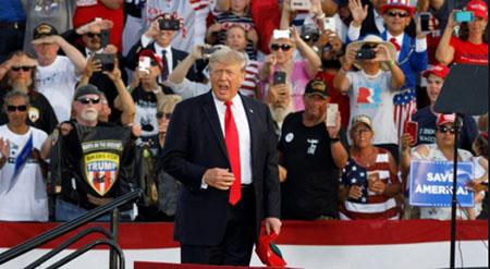 Trump explains Arizona, Georgia revelations after media doesn't; Slams Fox