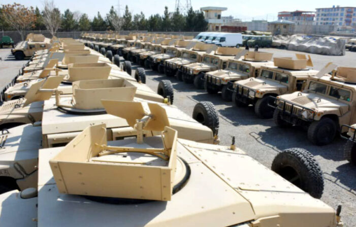 Guns, Black Hawks, Humvees, drones: Taliban and China reap bonanza of U.S. military hardware