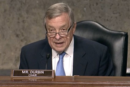 Sen. Durbin tries to duck ATF nominee racism report missed by corporate media