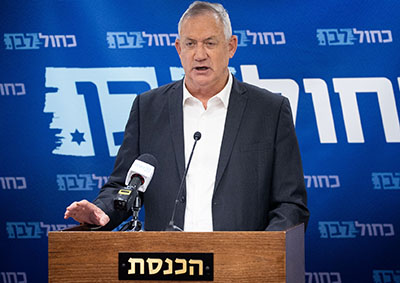 Israel is 'ready to attack' Iran, defense minister Gantz says