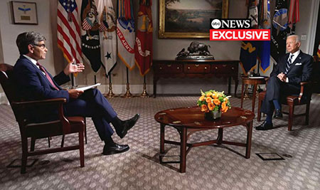 Permanent vacation, II: Biden finally grants an interview . . . to former Clinton flack Stephanopoulous