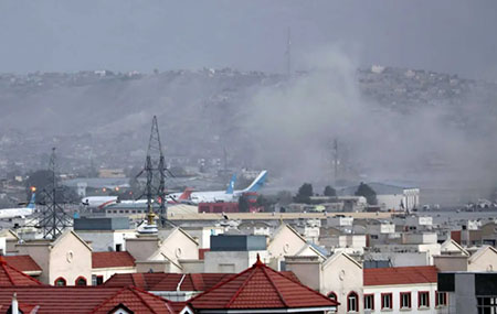 12 U.S. troops, 60 Afghans killed in Kabul airport attack; Lawmakers call on Biden to resign