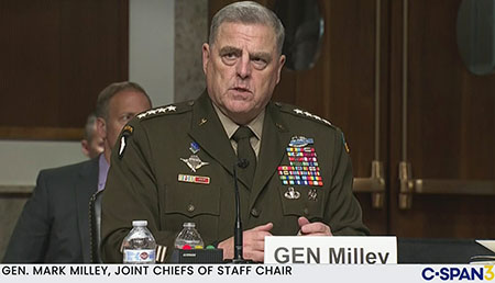 Columnist: Playing politics wrecked U.S. security; Milley should be 'fired and court-martialed'