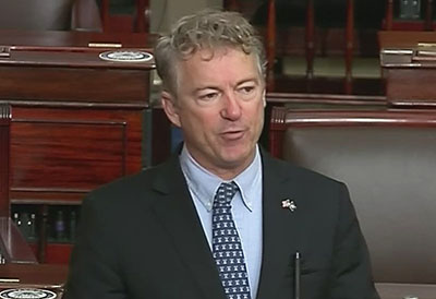 Sen. Paul advises Americans: Stop listening to 'King Fauci' the superspreader of fear