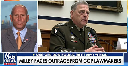 Gen. Bolduc: Many in the military 'have lost confidence in the chairman'