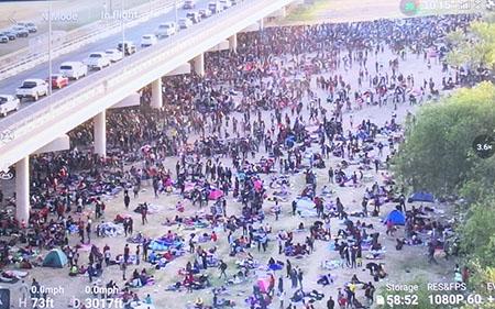 Haitian invasion: 10,000 migrants in Del Rio, Texas amid Biden 'stand down' order