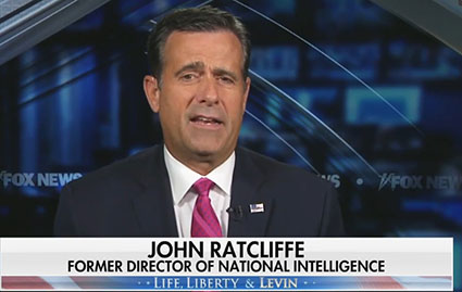 Former DNI Ratcliffe: 'Joe Biden is the greatest national security threat we face'