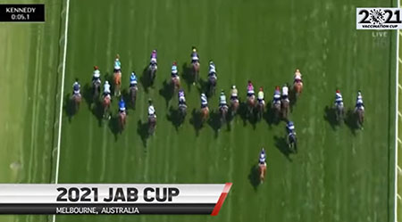 The 2021 Jab Cup: Vax comic relief out of Australia during dark times