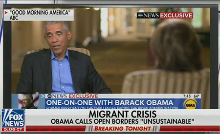 ABC News cuts out Obama comment that open borders are 'unsustainable'