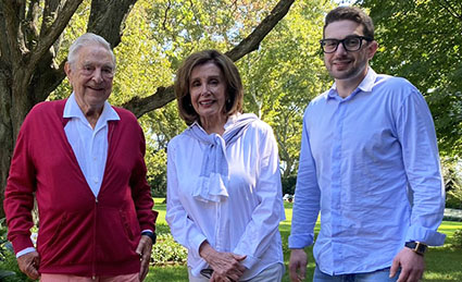 Soros, Jr. tweets: 'In Pelosi we trust' (What's God got to do with it?)