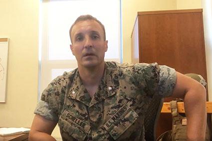 Marines lock up officer who went public on Bagram surrender as generals testify