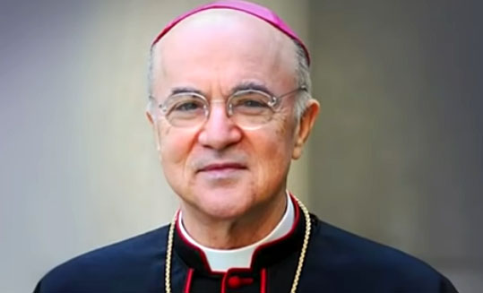 'Everything the elite wanted to do, they have done': Archbishop Vigano on the 'global reset' and what to do