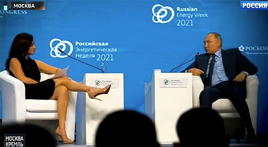 CNBC journalist who used provocative body language vs Putin has extensive Deep State ties