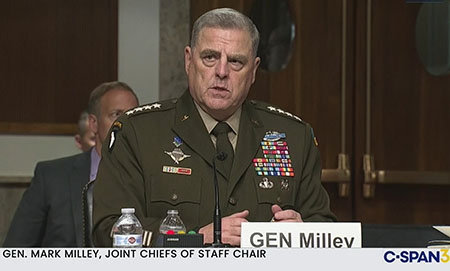 Was China's military on alert last November? Gen. Milley says yes, top Trump officials say no