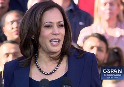 Analysts: Kamala Harris violated federal law in stumping for Virginia's McAuliffe
