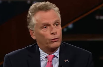 Clintonite McAuliffe was a broken record on voting data integrity in 2019
