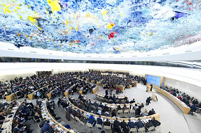 After exiting under President Trump, U.S. returns to UN's surreal Human Rights Council